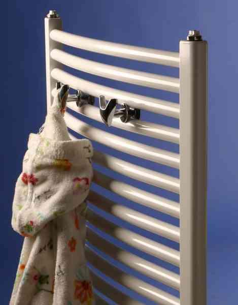 Handtuchdoppelhaken für Corpotherma Heizkörper