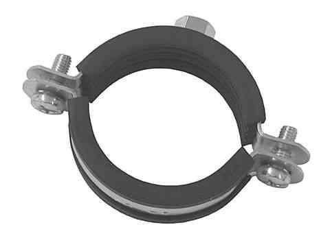 2-Schrauben Rohrschelle verzinkt