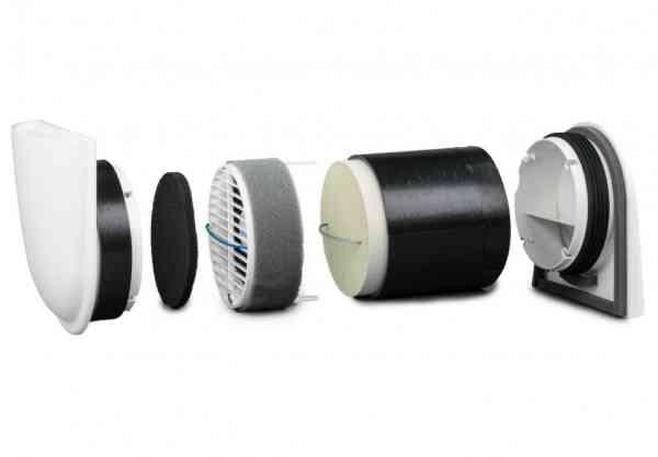 SmartFan Komplettset Dezentrales Lüftungsgerät sensorfähig