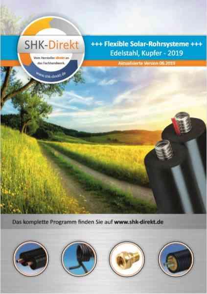 Katalog SHK Solar-Rohr-Systeme und Zubehör 06.2019