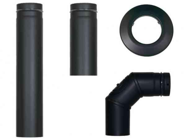 Verbindungsleitung Pelletrohr - Rohrset Pelletset