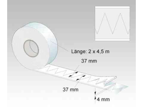 Universalschallschutzband HydroMount für alle Sanitärkeramiken