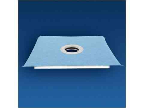 Quadratisches Duschboard für bodengleiche Duschen