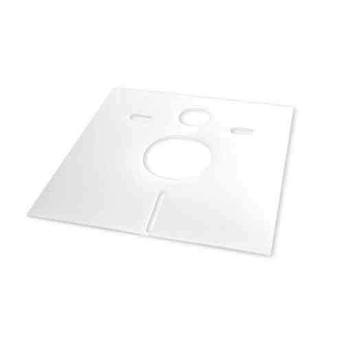 Schallentkopplungssystem Wand WC Schallschutz Quattro Duo 50 Stück