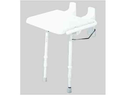 Duschklappsitz 4-fach höhenverstellbar