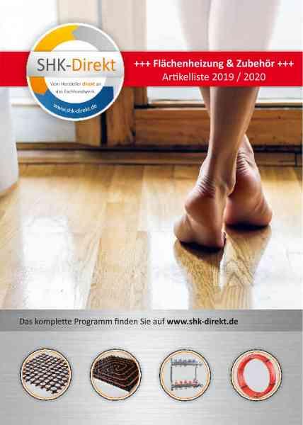 Katalog SHK Flächenheizung & Zubehör 2019 / 2020