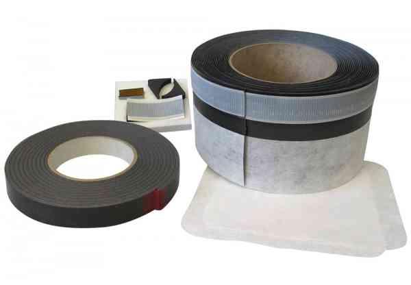 TrockenBad - HydroDense Wannendichtband selbstklebend + Eckverlängerungen