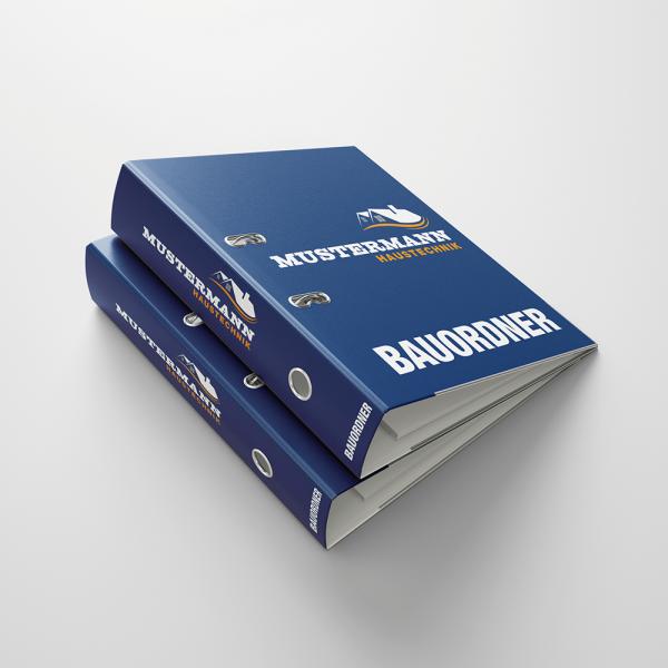 Aktenordner in Ihrem Firmendesign (100 Stück)
