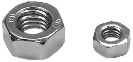 Muttern DIN 934 Stahl verzinkt