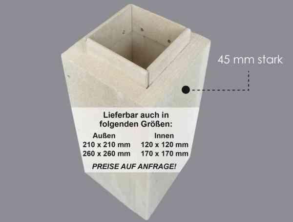 Leichtbau-Schornstein Leerschachtsysteme F90 Grundpaket ca. 5,0 m Höhe