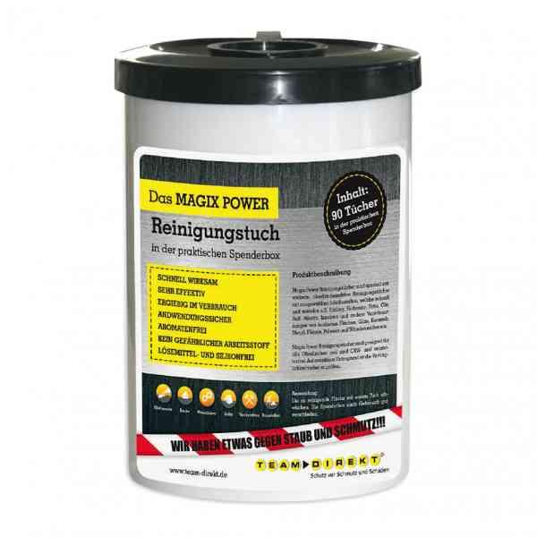 MAGIX POWER Reinigungstücher oberflächenaktiv 90 Stück in Spenderbox