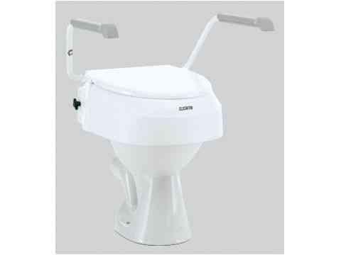 Toilettensitzerhöhung mit Armlehnen