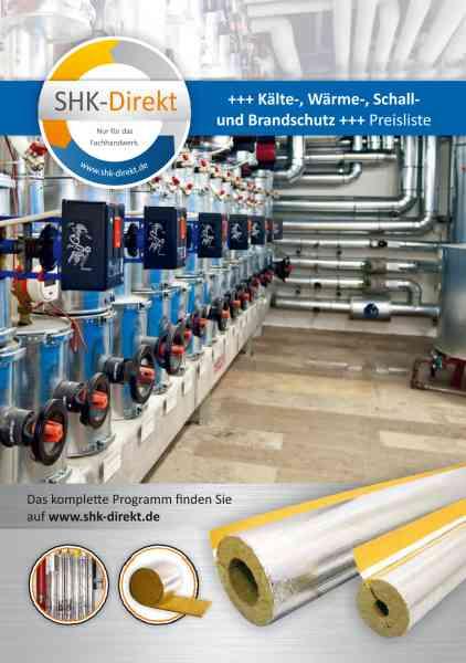 Katalog SHK Kälteschutz Wärmeschutz Schallschutz Brandschutz 2018