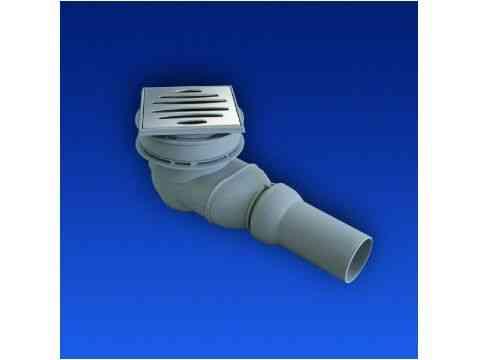 Duschablauf für Duschboard 823/BW waagerechter Abgang