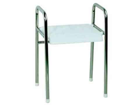 Duschhocker geschlossen mit Armstützen und Sitzmodul