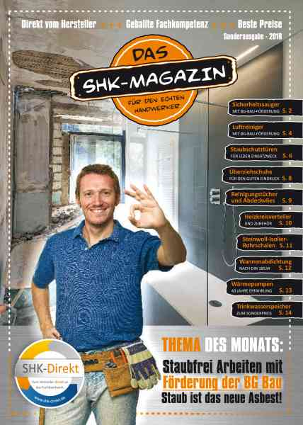 SHK Direkt Magazin Aktionsheft Ausgabe 1 2018