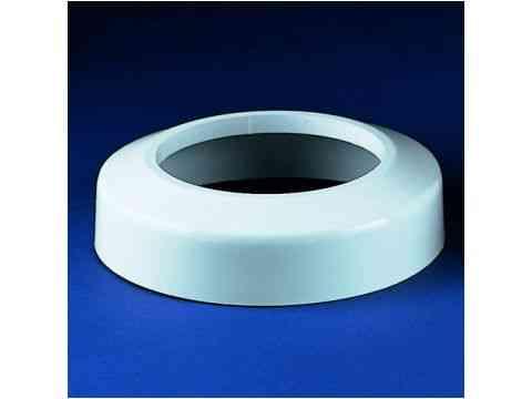 WC Flach Rosette 45mm DN 100