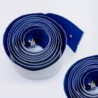 PE-Folie 1,20 x 2,20 m inkl Staubschutzt/ür Folie mit Rei/ßverschluss Baut/ür doppelseitigem Klebeband und KLETTVERSCHLUSS