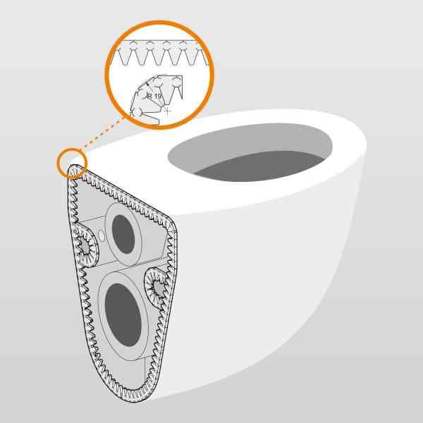 HydroFLEX Wand-WC Schalldämmband