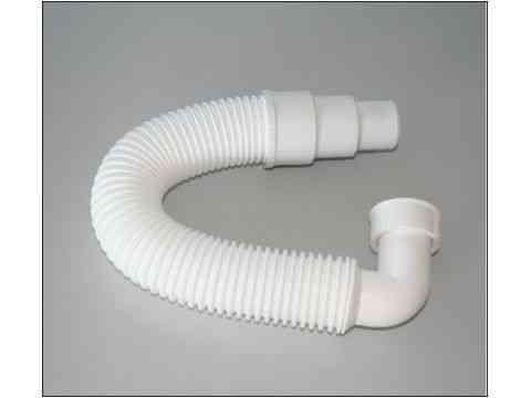 flexibles Anschlussrohr 90° Bogen