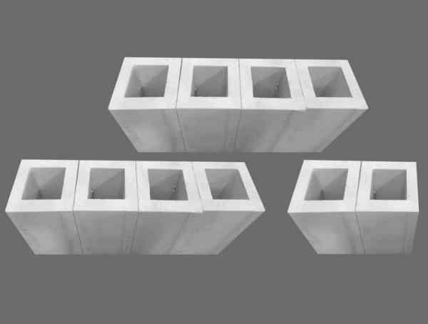 Abgasleitung PP starres Kunststoffsystem Brennwertkomplettpaket ca. 10 m inkl. Betonleerschacht