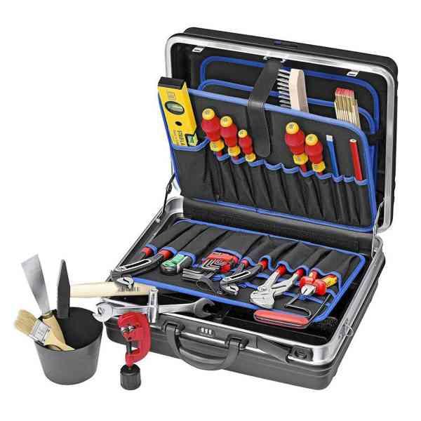 Azubi Werkzeugkoffer Heizung Klima Sanitär 22-teilig Knipex