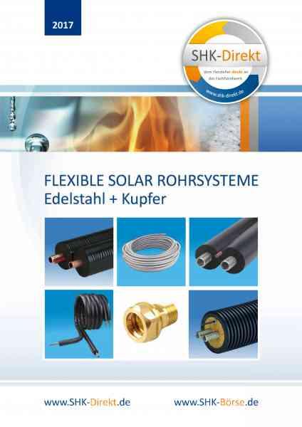 Katalog SHK Solar-Rohr-Systeme und Zubehör 2017