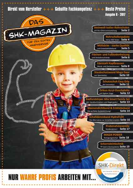 SHK Direkt Magazin Aktionsheft Ausgabe 6 2017