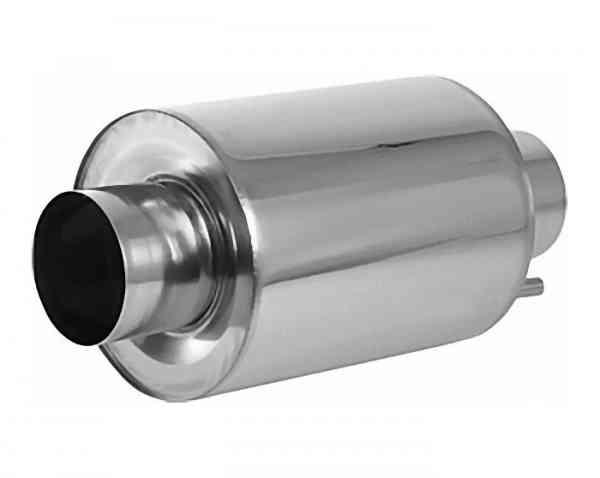 Abgasschalldämpfer Edelstahl Schallpegelminderung ca. 20 dB