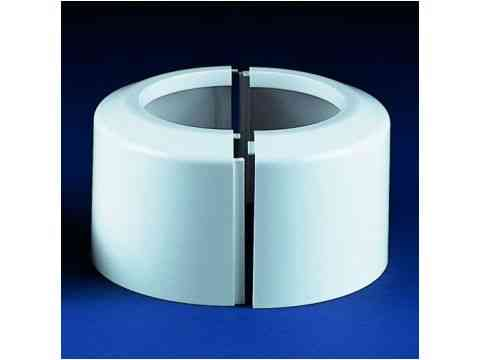 WC Klapp Rosette 2-teilig 100 mm DN 100