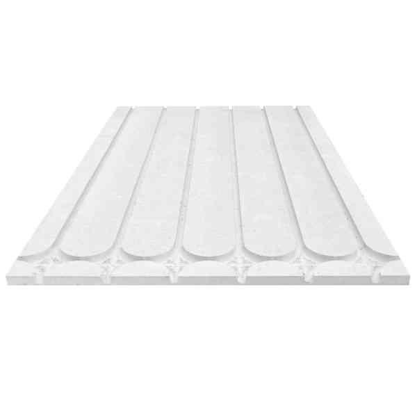 Flächenheizung Fußbodenheizung Trockenbau Estrich-Strukturplatte